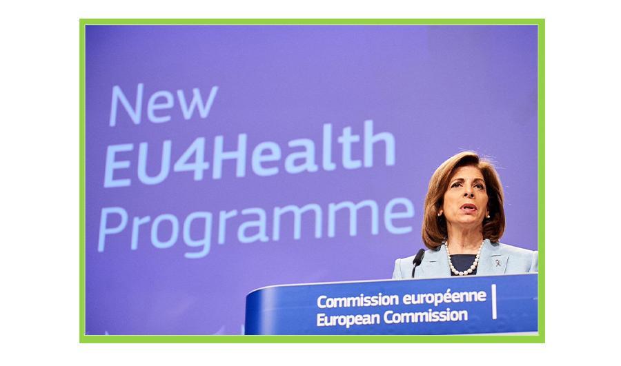 EU4HEALTH: 312 MILIONI DI EURO DI FINANZIAMENTI PER IL 2021
