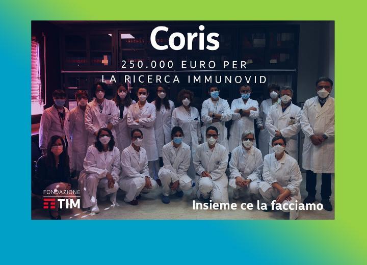 IMMUNOVID: UNO STUDIO SUI MECCANISMI CHE DETERMINANO L'AGGRAVAMENTO DEI MALATI COVID-19